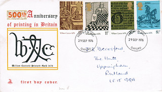 29-Sep-1976 UK First Day Cover