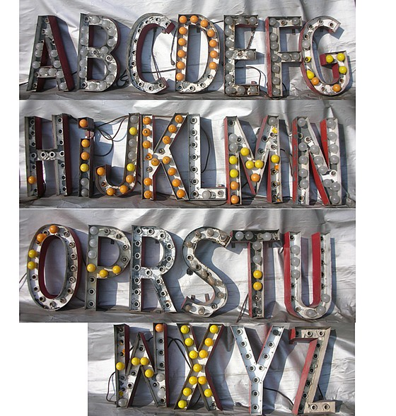 Vintage Marquee Letters | Flickr - Photo Sharing!