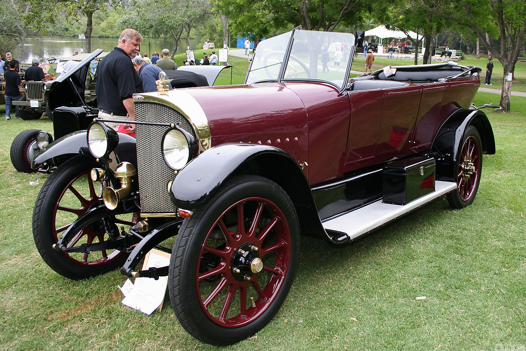 1918 opel 14 38 dual cowl phaeton maroon black fvl. Black Bedroom Furniture Sets. Home Design Ideas
