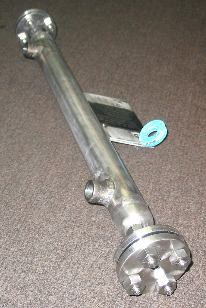 Heat Duct Supports : Psig heat exchanger for a chemical process research lab