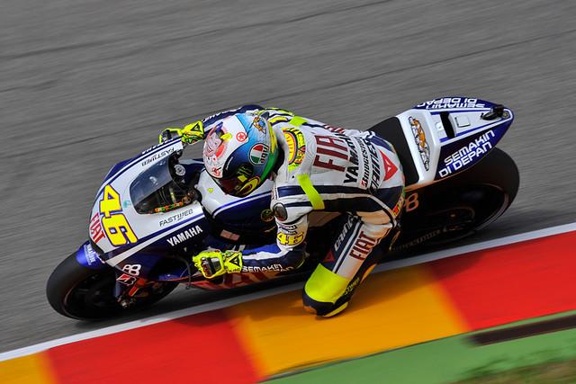 Valentino Rossi  Photos by Gigi Soldano - Milagro  By: Fiat Yamaha Team  F...