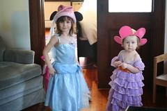 HRM Princess Violet and HRM Princess Francie