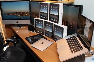 iPads on My Desk!