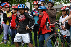 Mayor Adams at Safe Routes to School ride-2