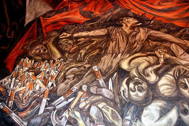 Flickriver photoset 39 jos clemente orozco mural governor for El mural jalisco