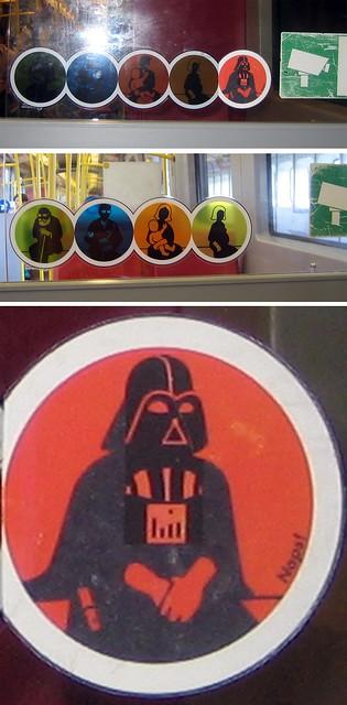 Fährt Darth Vader mit der Wiener U-Bahn?