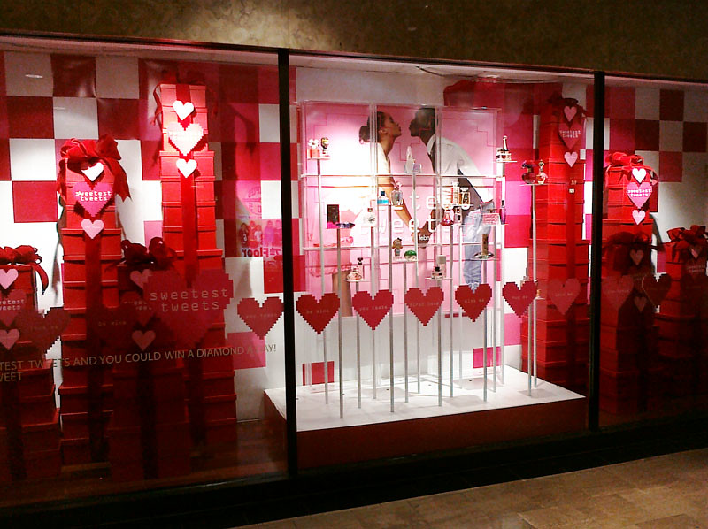 Valentine displays