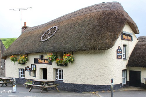 Wheel Inn, Tresillian, Cornwall by Claire Stocker (Stocker Images)