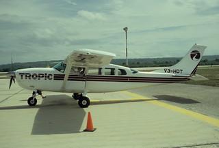 255af - Tropic Air Cessna 207A Stationair 8 II; V3-HDT@FRS;04.08.2003