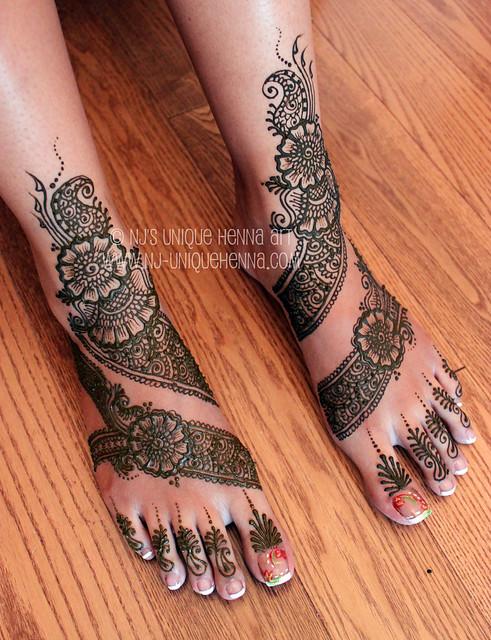 Bridal Mehndi Rates Nj : Sinthuja s bridal henna feet nj unique art