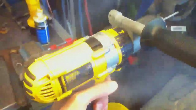 Another drill bites the dust...
