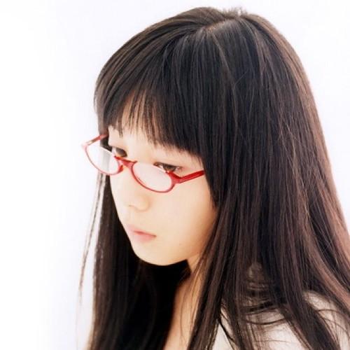 メガネの夏帆。かわいいw