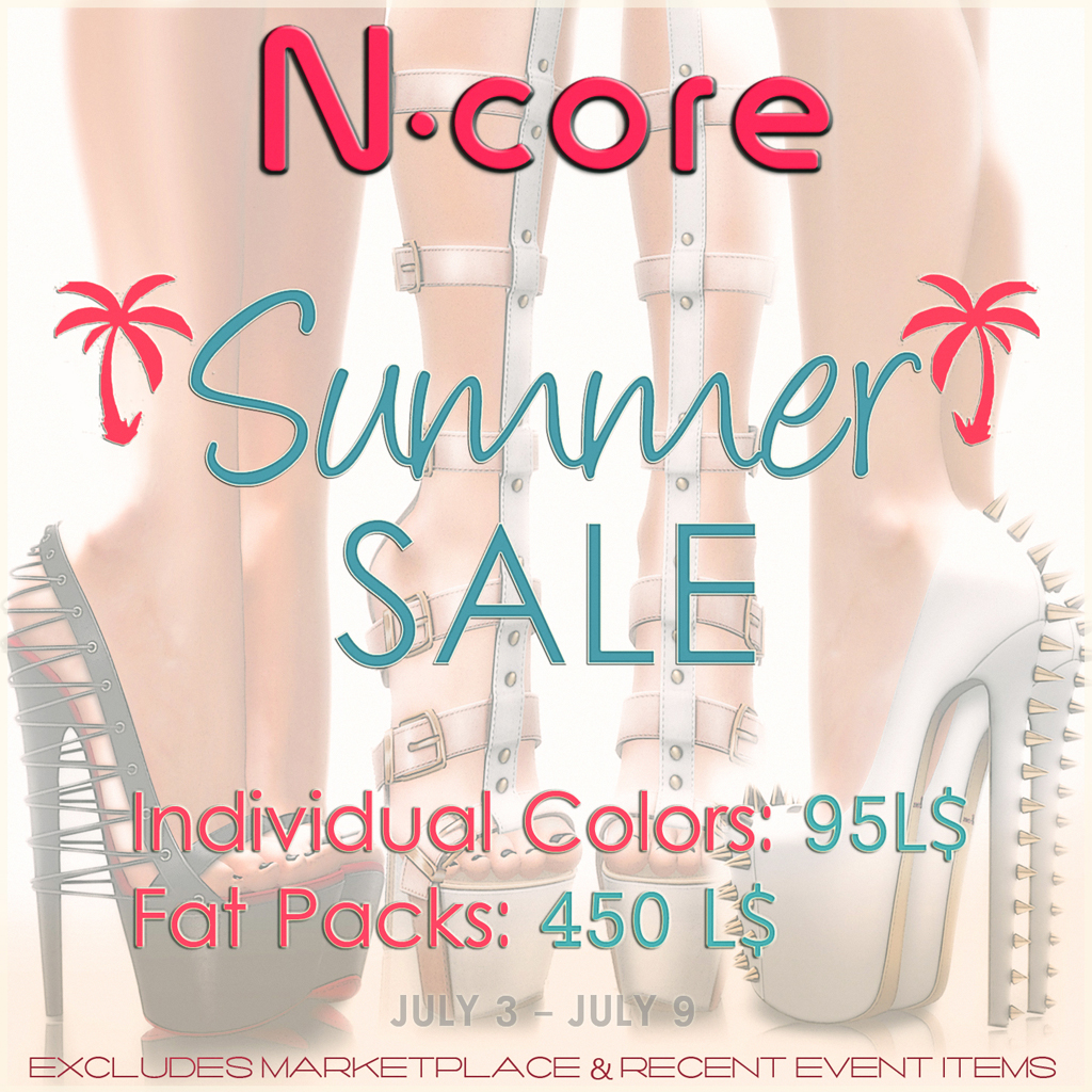 N-core Big Summer SALE! - SecondLifeHub.com