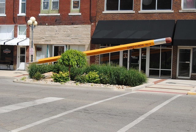 World's Largest Pencil, Casey, IL