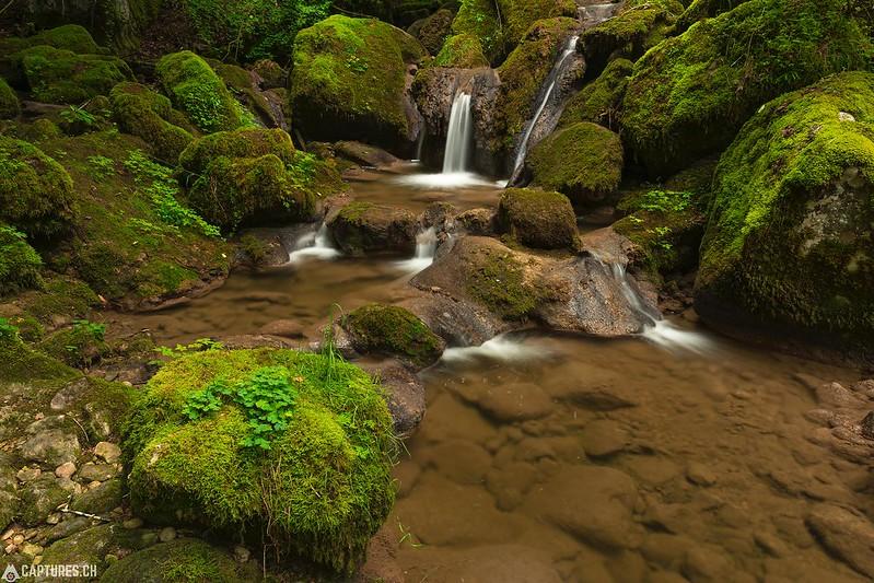 Waterfall 2 - Twannbachschlucht