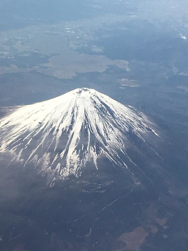 Mt.Fuji from an Airplane...