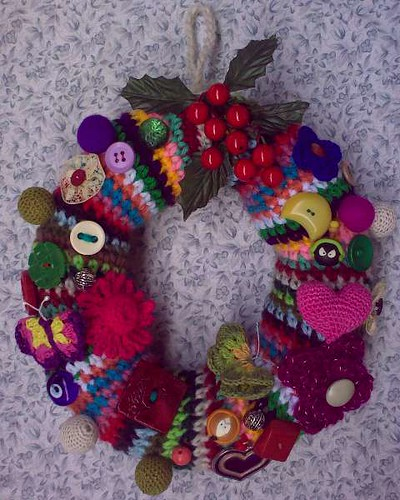 Xmas Wreath - Finished