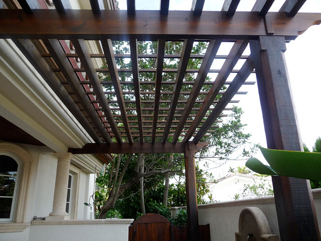 Modern Wood Pergola Flickr Photo Sharing