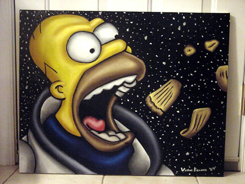 _The_Simpsons_Deep_Space_Homer_by_vbeazzo