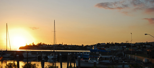 sunset color boats caribbean stkittsandnevis basseterre nikond40x