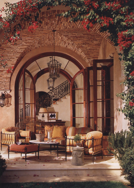 Tuscan Style Living Room Colors