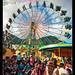 San Francisco parade ferris wheel, Panajachel, Guatemala