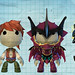 LittleBigPlanet White Knight Chronicles costumes