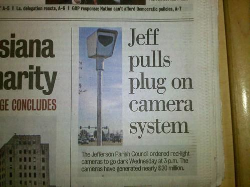 Pulling the plug