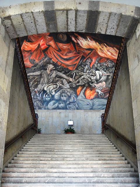 Mural en palacio de gobierno guadalajara m xico 2009 for Aviso de ocasion mural guadalajara
