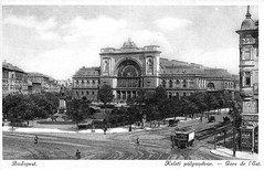 Old postcards of Budapest – East Station