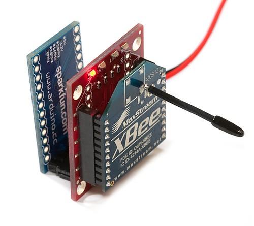 Arduino pro mini with xbee sparkfun