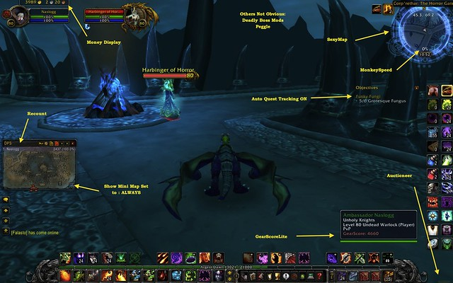 Addons wow install ~ adavnce player