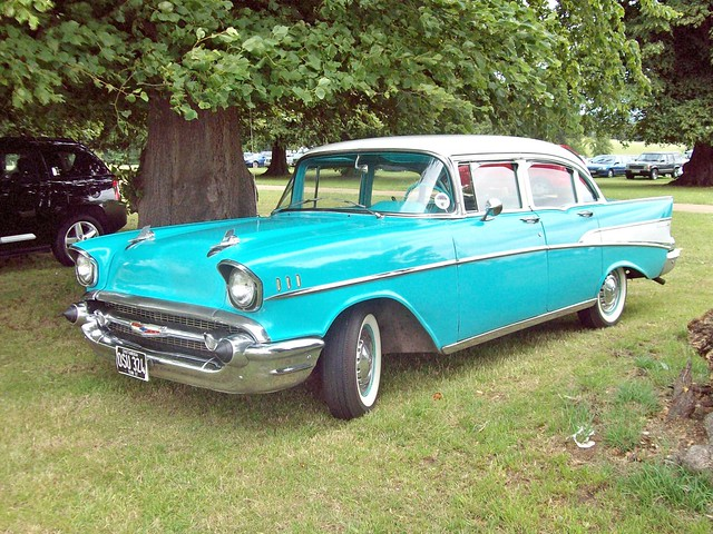 2 chevrolet bel air 4 door sedan 1957 flickr photo for 1957 chevy 4 door sedan