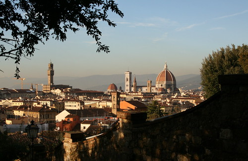 View of Florence and Duomo
