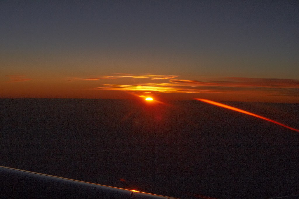 Sunset At 35000 Feet by Andrey Belenko, on Flickr