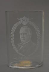 McKinley Portrait Drinking Glass, ca. 1900