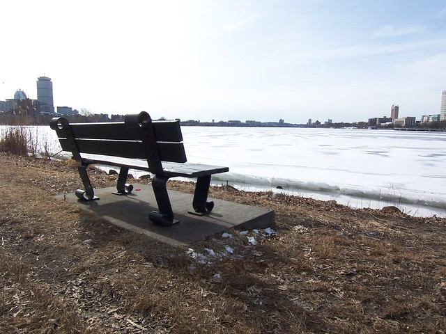 bench on the water