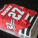 Chicago Blackhawks Jersey Cake