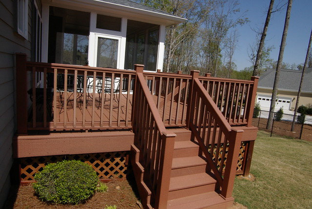 Composite deck choicedek composite deck for Choicedek warranty
