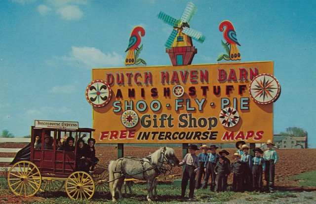 Dutch Haven Barn - Intercourse, Pennsylvania U.S.A. - date unknown