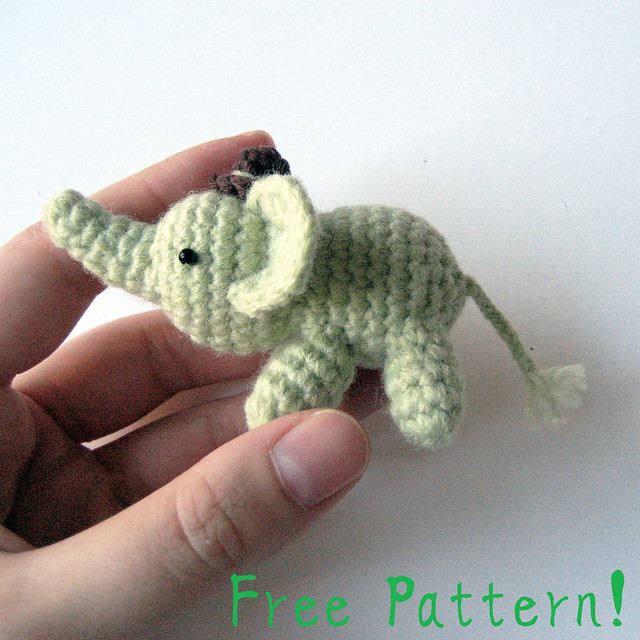 Small Crochet Elephant Pattern Free : Percy The Elephant - Free Pattern! Flickr - Photo Sharing!