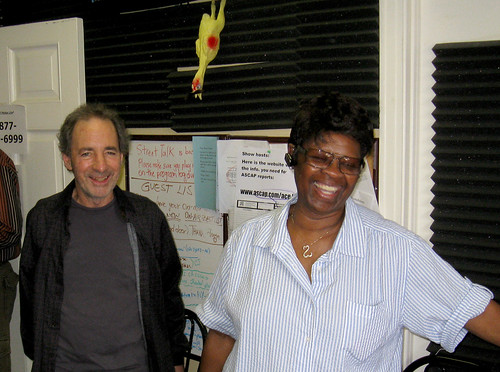 Harry Shearer and Irma Thomas