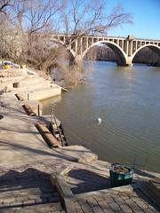 Scene on the Rappahannock River, Fredericksburg, VA
