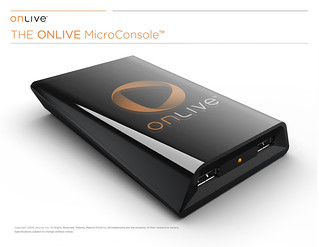 OnLive - MicroConsole TV Adapter