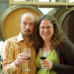 Brandon and his wife Jackie in Napa, California