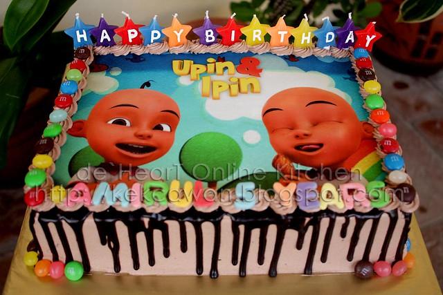 Cake Upin Ipin 01 Flickr - Photo Sharing!