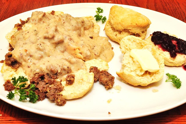biscuits and gravy are the best