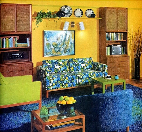 Retrospace the vintage home 2 for 70s style living room ideas