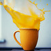 a cup of orange juice in the morning. EXPLORE - #100 by Tom Cooke