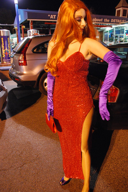 Sexy jessica rabbit cosplay